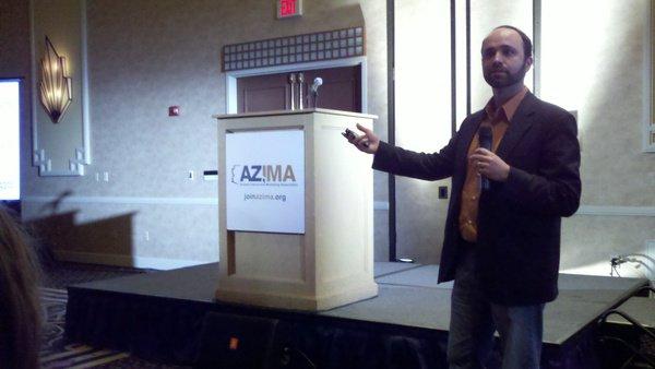 Joe Pullizzi Presents to AZIMA